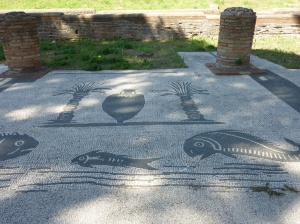 Ostia Antica. In the