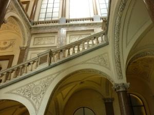 Grand staircase Palazzo Braschi
