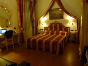The Grand Canal Apartment, our home in Venice.