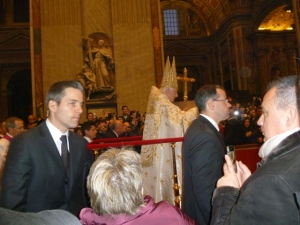 It was actually quite a thrill to see the Pope in person!