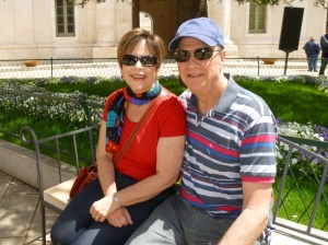 Celebrating one year in Italy, here we are in Martina Franca.