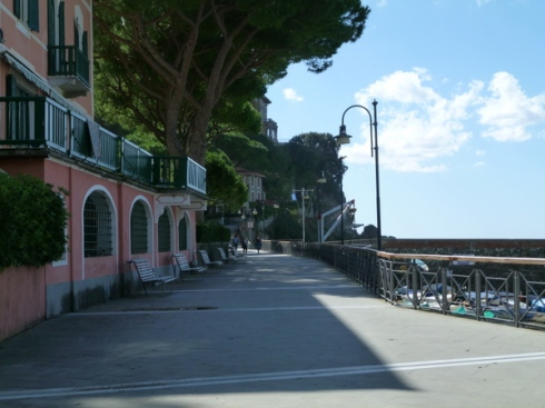 Boardwalk in Levanto