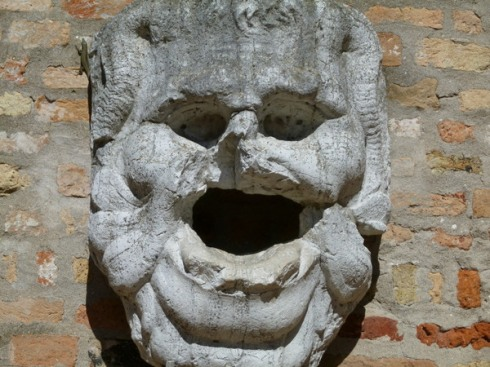 Ancient face, Torcello