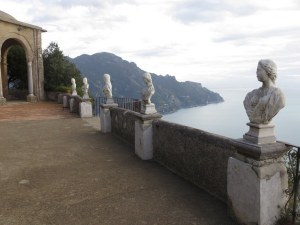 Infinity Terrace at Villa Cimbrone.