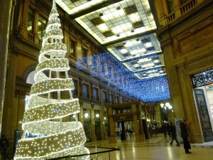The Galleria on Via del Corso.