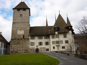 The castle in Spiez