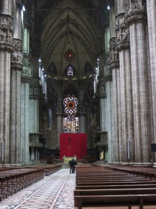 4th longest nave in Christendom, so says my guidebook.