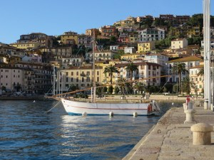 Porto Santo Stefano sports many restaurants along a fabulous lungomare, prime for the passagiata.