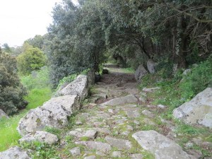 It is difficult to imagine the industrious people, probably Romans, who built this path over the island so very long ago ago.