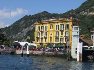 Hotel Olivedo, right on the lake.  Fabulous!