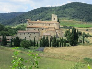 Abbey of Sant'Antimo, near Montalcino