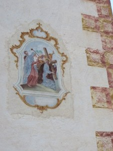 "Fresco on San Giacomo, 15th century! There is also a quaint cemetery with a view to ""die"" for."
