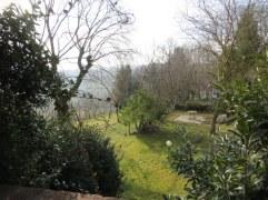 A small portion of the yard and garden at Poggio Etrusco.