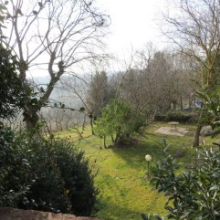 A small portion of the yard and garden at Poggio Etrusco.