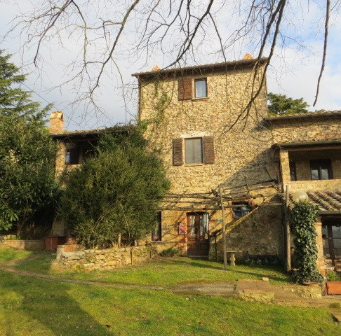 Our Agriturismo house. About 400 years old.