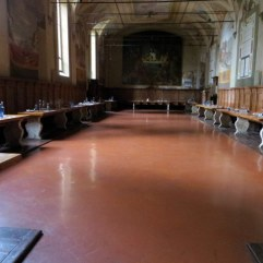 The monks dining hall.