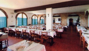 Cavernous Ristorante Pulcino - not my picture but from their website. I wish I had photographed the outside for you!