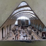 A peek at the main floor of the D'Orsay.