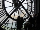 On the top floor of the Musée D'Orsay.
