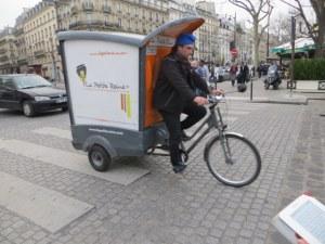 Paris delivery vehicel.