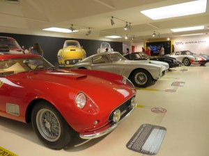 We took one day away from Montese to journey to Maranello and the Ferrari Museum. Quite a collection!