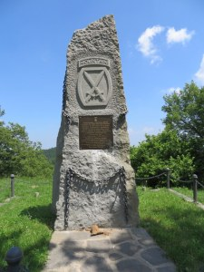 At the top of Mount Belvedere there is a monument honoring the 10th Mountain Division.