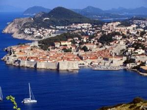 Above Dubrovnik.