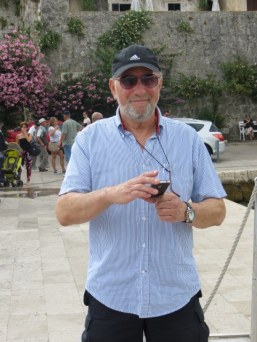 Rosario was our host in Korčula. A former sea captain, he has settled back in his home town.
