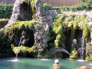 Fountain in the Vatican Gardens, reminiscent of Villa d'Este.