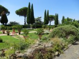 Gardens at Albano-Castel Gandolfo. Confusion on the location but not the beauty.