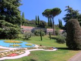Papa Francesco's coat of arms, gardens at Albano.