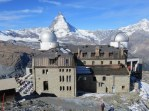 Kulmhotel at the Gornergrat. 335.00 CHF (about $342) buys one night in a room overlooking the Matterhorn. Meals sold separately.