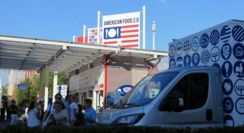 Food Truck Nation. Yup, American food sold from trucks. Pretty good idea, we thought!