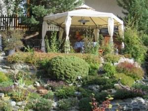 Garden gazebo.
