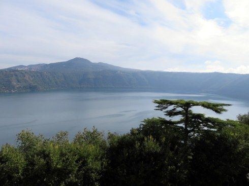 Pope's view of Lago Albano.