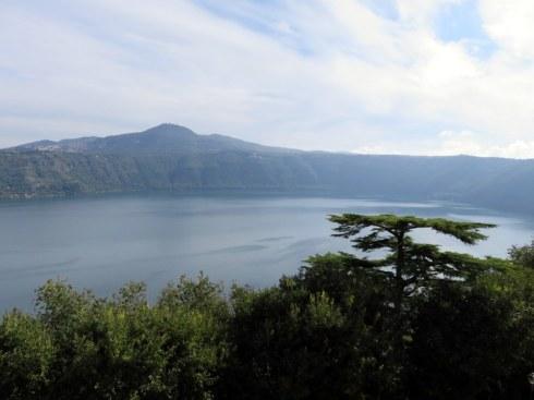 Pope's view of Lago Albano.