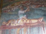 I do not know my saints and their martyrdoms, but this fresco is all too vivid.