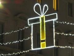 "Milano has a theme called ""Yellow Christmas"" near Porta Venezia. Un po' strano."