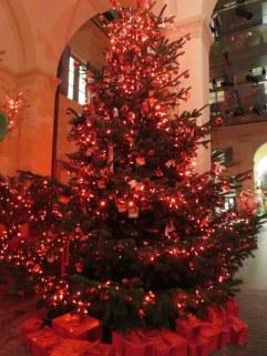 Tree in a bar in Milano. Molto elegante!