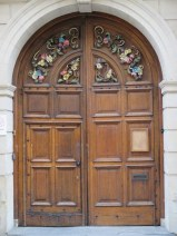 Oxford door.