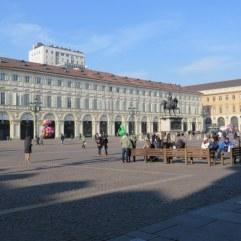 Piazza San Carlo, Torino.
