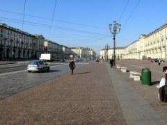 Wide open spaces: Piazza Vittorio Veneto, Torino.