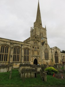 "St. John the Baptist in Burford, a so-called ""wool church"" as it was funded by wealth from wool."