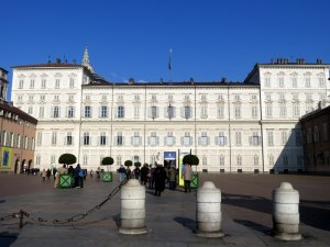 Palazzo Reale, the royal residence in the heart of Torino at Piazza Castello.