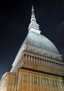La Mole Antonelliana. We tried to ascend, but were foiled by a Japanese film crew that had taken it over for a shoot.