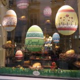 Demel's windows dressed for Easter.