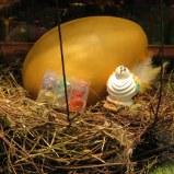 Easter deco at Demel.