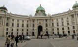 The Hofburg Palace.