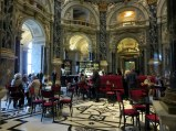 Cafe inside the KHM, an elegant reminder of times long gone.