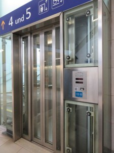 Can I tell you how much we appreciate that train stations are putting in lifts to platforms? After years of hauling our luggage up-and-down stairs between platforms, this is a blessing.